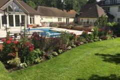 Garden landscaping Dorset.