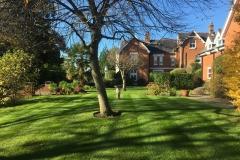 Garden landscaping Wiltshire.