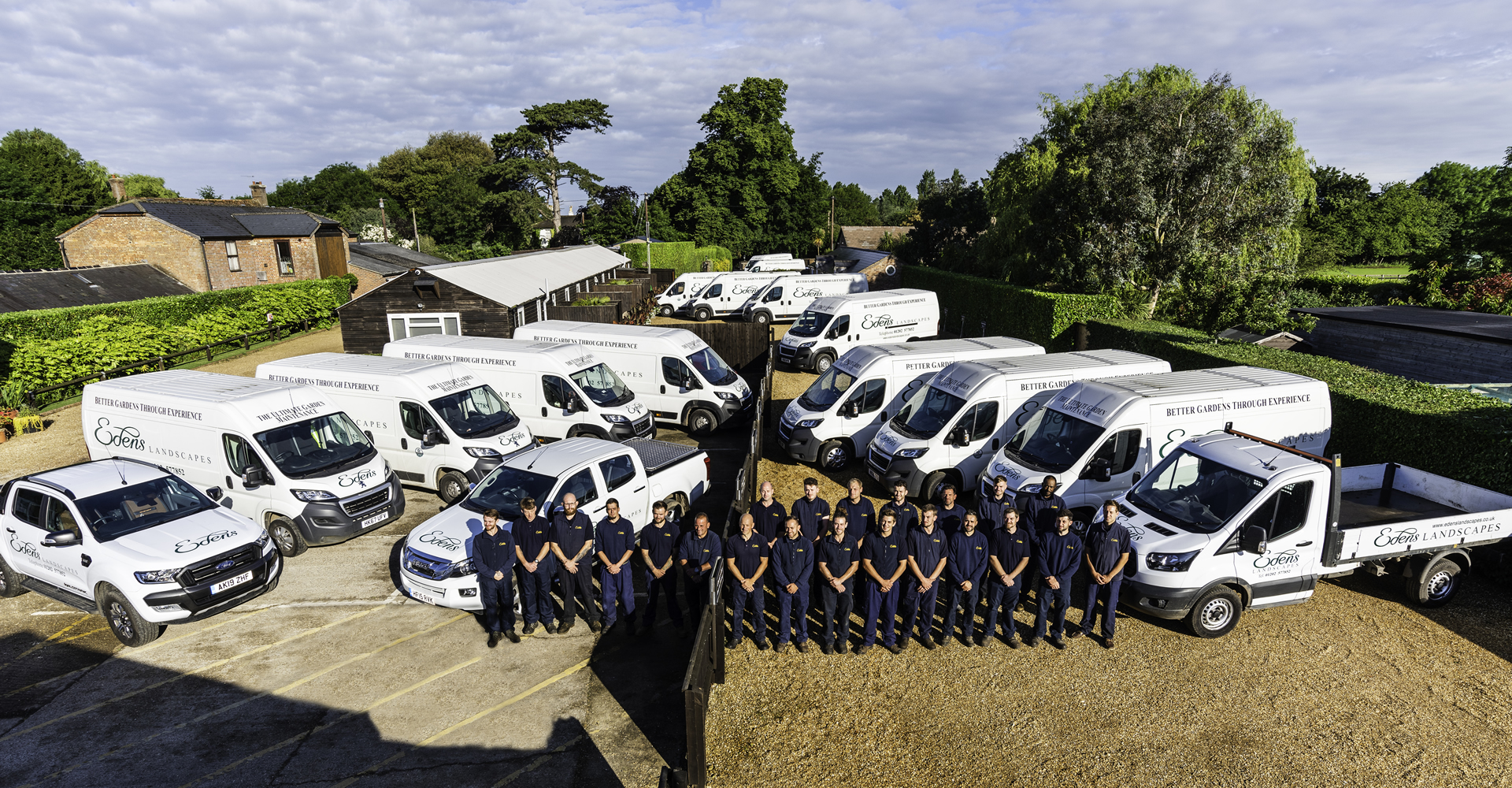 Edens Landscapes, Dorset - photo of team.