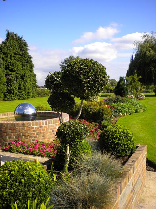 Garden design in Poole.